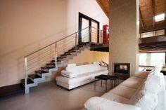 Escaleras rectas de hierro