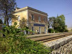 La prima stazione d'Italia....#leucamarathon #amarodileuca #scattaglia