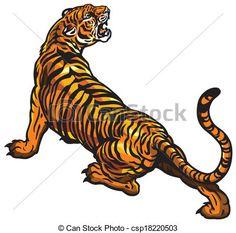 Image result for tiger illustrations