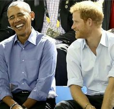 #POTUS44 & #PrinceHarry ~❤~
