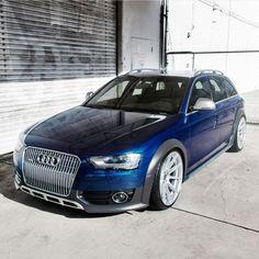 Scuba Blue Audi Allroad