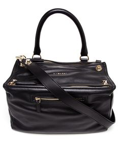 £1,290.00 Black calf leather Pandora bag from Givenchy.