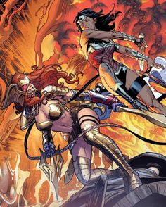 Wonder Woman vs Angela