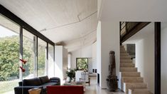 Interior living room of converted stable Cáceres-Country-House_6