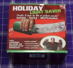 Holiday Light Saver Christmas Light Storage Solution #Emson