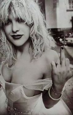 Courtney Love inspired the song 'I'll Stick Around' by the Foo Fighters. It includes the line, 'How could it be/ I'm the only one who sees/ your rehearsed insanity?' Dave Grohl never tries to hide his disdain for Love. http://youtu.be/X_rTTsZZ9KE