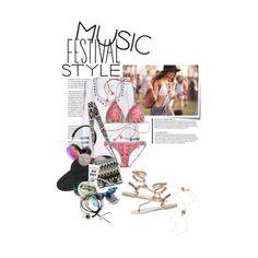 Music Festival Style by ashley-rebecca