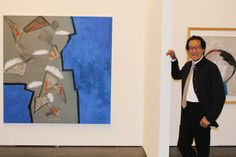 Talking art The United Arab Emirates is opening spaces for Egyptian artists to display their work: Nevine El-Aref attended the official inauguration of Farouk Hosni's first exhibition after the 2011 revolution in Dubai and witnessed his contribution to Abu Dhabi Art