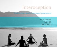 Interoception is awareness of our feelings and yoga is a great way to improve it so we are better able to regulate our emotions. Positive Mental Health, Emotional Regulation, Be Kind To Yourself, Negative Thoughts, Nervous System, Trauma, No Worries, Literature, Positivity