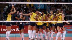 Brasil é bi no vôlei feminino olímpico e Zé Roberto é o 1º tri