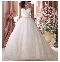 Princess wedding dress Marry Me, Wedding Day, Dream Wedding, Got Married, Tulle Dress, Groom, Beautiful Dresses, Lace, Wedding Dresses