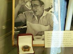 This is James Dean's exact watch he was wearing when he was killed 9/30/55 in Ca. It is a 18K black dial LeCoultre Power-matic. This watch is on display at the Fairmount Museum in Fairmount, Indiana.