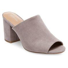 Women's Didi Mule Pumps Merona - Grey 10