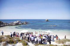 Beach Wedding on Rottnest Island