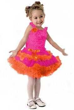 whatgoesgoodwith.com hot pink and orange dress (07) #cuteoutfits