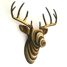 Teds Wood Working   Kalalou Recycled Wooden Deer Head Wall Hanging More    Get A Lifetime Of Project Ideas U0026 Inspiration! | Projects | Pinterest |  Project ...