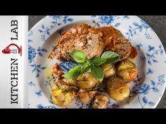 Γεμιστό ρολό κιμά με πατάτες Επ. 8 | Kitchen Lab TV | Άκης Πετρετζίκης - YouTube