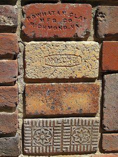 araknesharem:  Bricks. Maccallum More Gardens, Chase City, Va by Universal Pops on Flickr.