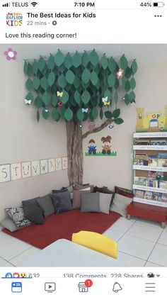 reading area in classroom Classroom Setting, Classroom Setup, Classroom Design, Classroom Displays, Kindergarten Classroom, Classroom Organization, Reading Corner Classroom, Kindergarten Reading Corner, Childrens Reading Corner