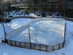 Ice Skating Rink Dasher Boards/Ice Rink Board/barriers | Ice Rink Dasher  Board | Pinterest