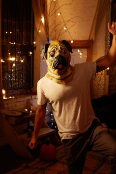 Pug Mask - Urban Outfitters