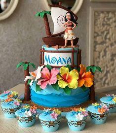 Fun Birthday Party Themes for Kids - Moana Moana Birthday Party Theme, Moana Themed Party, Moana Party, Princess Birthday, Birthday Parties, 2nd Birthday, Moana Birthday Cakes, Moana Theme Cake, Birthday Ideas