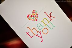 """It's definitely been a while since I've posted a free printable. So, when Angie from TipJunkie contacted me about doing a Friday Freebie a while back I thought """"perfect timing, and I'm in need of a cute thank you card printable myself. Deal!"""" I designed this to be super easy to print out. Just use …"""