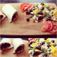 Healthy food Fresh easy and sooooo good!!