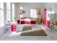 Dětský pokoj pro holku Tolga v nabídce dílů Toddler Bed, Kids Rooms, Furniture, Design, Home Decor, Simple Lines, Child Bed, Decoration Home, Room Decor