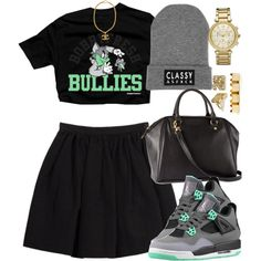 """Untitled #966"" by power-beauty on Polyvore Cheap Jordan Retro 4 Grade School only $61.2, save up to 59% off for all #Nikes #Shoes"