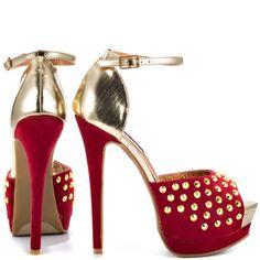 Shoe Republic Shiva; Red