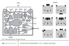 Favor Bag Accessory - Cat