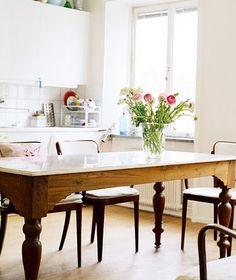kitchen table: