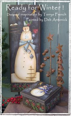 Ready for Winter by Deb Antonick email pattern packet