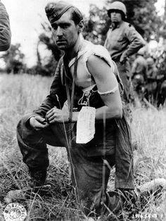 German POW June 1944 France