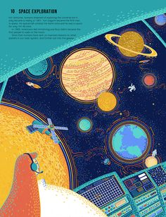 100 Steps For Science on Behance