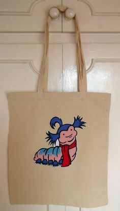 Longhandled Labyrinth Character Shopper Bag  Worm by geekvintageuk, £6.99