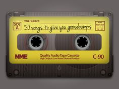 50 Songs To Give You Goosebumps