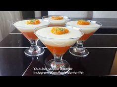 HAVUÇLU MAGNOLYA Pudding, Custard, Clay Crafts, Martini, Tea Time, Tart, Carrots, Cooking Recipes, Breakfast