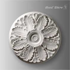 Polyurethane acanthus decorative wall medallions | ceiling medallions by GoodWare