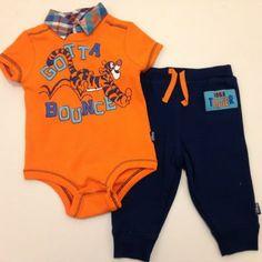 TIGGER Disney Cuddly Bodysuit™ and Pant Set