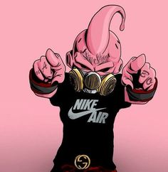 Love you my choclate fans Dope Cartoon Art, Dope Cartoons, Goku Wallpaper, Cartoon Wallpaper, Dragon Ball Z, Buu Dbz, Majin Boo, Black Anime Characters, Animes Wallpapers