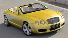 Kuning 2007 Bentley Continental GTC