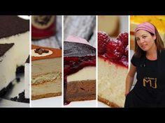 TOP 5 CHEESECAKE | MIS MEJORES TARTAS DE QUESO | Las Recetas de MJ - YouTube Cheesecakes, Cheesecake Cake, Sweet And Salty, Cake Pops, Vanilla Cake, Bakery, Deserts, Food, Relleno