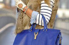 Yves Saint Laurent Cabas Chyc Tote #YSL http://fashionfix.net-a-porter.com/newsflash/purist-wave