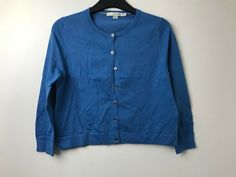 M/&S Longline Open Front Cardigan Size Small RRP £25