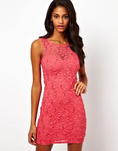 Discover evening gowns with ASOS. Shop for ladies evening dresses, ball gowns and formal dresses from the range of styles at ASOS. Short Lace Dress, Short Dresses, Sequin Dress, Dresses Dresses, Ball Gowns Evening, Women's Evening Dresses, Lovely Dresses, Beautiful Gowns, Pink