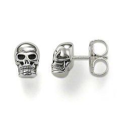 Thomas Sabo Silver Skull Earstuds