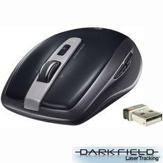 Logitech Anywhere MX - Mouse Sem Fio Laser 2.4ghz c/ Nano Receptor
