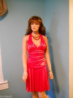 NWT- Red Strapless, City Triangles Party, Wedding, Prom Dress #CityTriangles